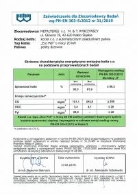 certyfikat121